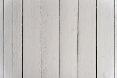 White wood plank wall texture Royalty Free Stock Images