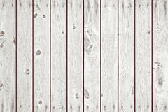 White Wood Planks as Background or Texture. Natural Pattern Stock Photography