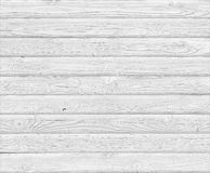 White wood planks background Royalty Free Stock Photos