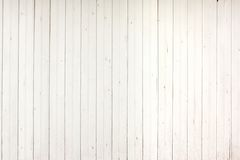 White Wood Planks Panel Stock Photo