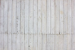 White wood texture background. Big wood with nail background Royalty Free Stock Photo