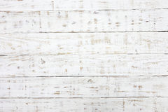White wood texture background Stock Photography