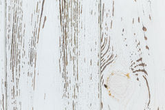 White wood texture background Stock Image