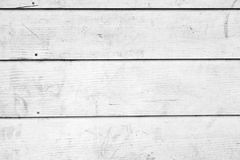 White Wooden Boards Royalty Free Stock Photo