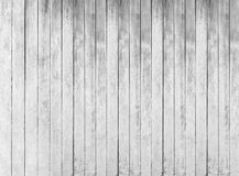 White wood texture of rough fence boards Stock Images