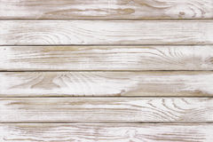 White wood wall old vintage using classical background. White wood panel background Ready for product display montage Stock Images