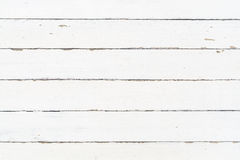 White wood wall texture as background Royalty Free Stock Photography