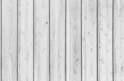 White wood wall texture for background. Stock Photography