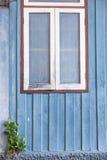 white wood window Stock Photo