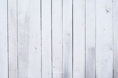 White wooden background, obsolote painted wood texture Royalty Free Stock Photo