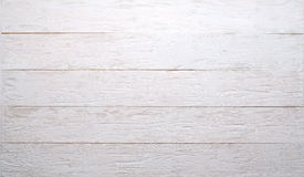 White wooden background. Old white wooden background. Textured Stock Photography