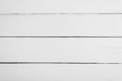 White wooden boards with texture for background. Horizontal frame Royalty Free Stock Photos