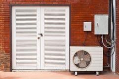 White wooden door. Stock Photography