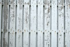 White Wooden Fence Royalty Free Stock Images