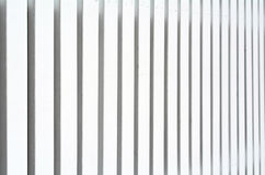 White wooden fence Stock Image