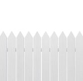 White wooden fence royalty free stock photos