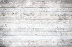 White Wooden Floorboards Texture Stock Images