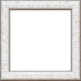 White wooden frame Stock Photos
