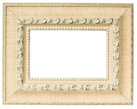 White wooden frame Royalty Free Stock Images