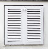White wooden furniture door Royalty Free Stock Photography