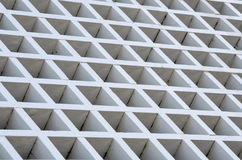 White Wooden Grid Royalty Free Stock Photo