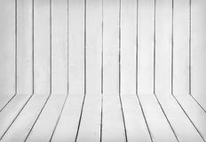 White wooden interior Royalty Free Stock Photos