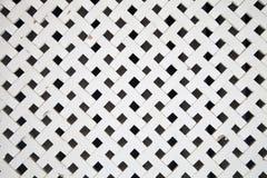 Free White Wooden Lattice Royalty Free Stock Photography - 123817257