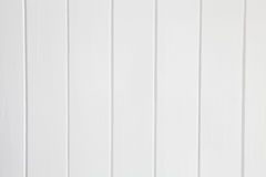 White wooden panel background Stock Image