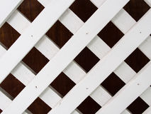 White Wooden Partition Royalty Free Stock Images