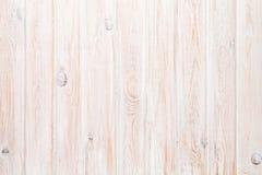 White wooden plank texture Stock Photos