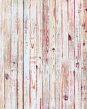 White Wooden Planks in the Row Royalty Free Stock Image
