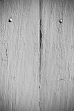 White wooden planks surface background Royalty Free Stock Image