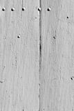 White wooden planks surface background Stock Photography