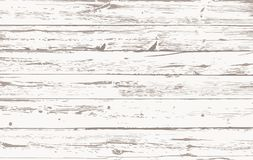 White wooden planks, table floor surface. Cutting chopping board. Wood texture. Vector illustration. White wooden planks, table floor surface. Cutting chopping royalty free illustration