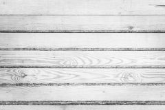 White wooden planks Stock Image