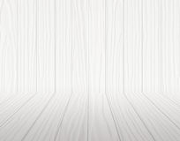 White wooden room Royalty Free Stock Photography