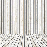 White Wooden stage for advertising Stock Photos