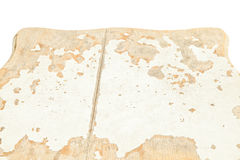 White wooden table top view Stock Photography