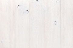 White wooden wall. Background texture Royalty Free Stock Image