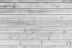 White wooden wall, close-up texture Royalty Free Stock Image