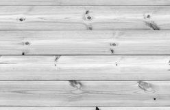 White wooden wall made of pine tree boards Stock Photography
