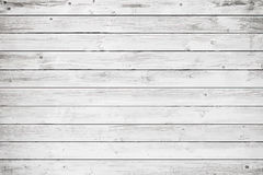 White wooden wall, table, floor surface. Light vector wood texture. Royalty Free Stock Image