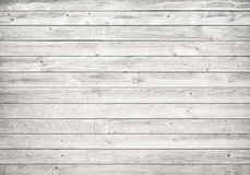 White wooden wall, table, floor surface. Light wood texture. Royalty Free Stock Photography