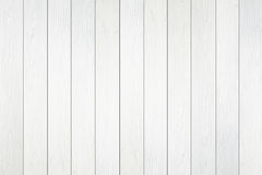 White wooden wall texture Royalty Free Stock Photos