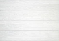 White wooden wall texture background Royalty Free Stock Photos