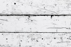 White wooden wall. Texture background Royalty Free Stock Image