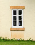 White wooden window Stock Image