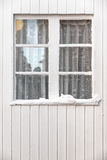 White Wooden Window Stock Photo