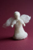 White wool angel Royalty Free Stock Photography