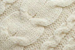 White wool background Royalty Free Stock Images